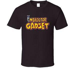 Inspector Gadget 80's Cartoon T Shirt - Brown Shirt