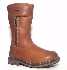 Brand New $130 GABOR Kids Girls Boots Fashion Snow LEATHER Size 2 USA/34 EURO
