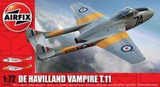 Airfix De Havilland Vampire T.11 NUOVO Nuovo di zecca E SIGILLATO 1/72