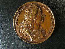 King George I Jean Dassier medal 1730s 38.1mm 20.39g England