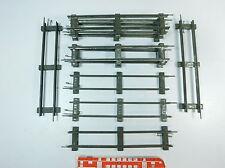 AT401-1# 10x Märklin/Marklin Spur 0 Gleisstück/Gleis für Uhrwerk-Betrieb