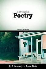An Introduction to Poetry: (13th Edition)