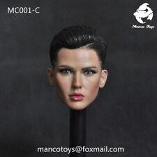 "Manco Toys MC001C scolpire RUBY ROSE DONNA testa scolpita in PVC modello FIT 12/"" PH doll"