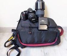 Appareil photo reflex numérique Nikon avec objectifs Nikon 18-55 & Sigma 70-300