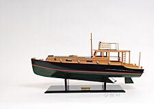 "Pilar 28"" Painted Quality Fishing Boat Model Ernest Hemingway 1934"