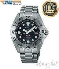 SEIKO SBDN013 PROSPEX Diver Scuba SOLAR Titanium Men's Watch EMS from JAPAN