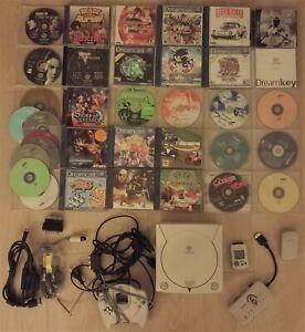 SEGA Dreamcast +giochi e accessori