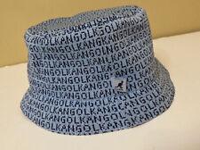 KANGOL Blue Bucket Hat Medium