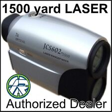 LASER RANGE FINDER 1400m GOLF HUNTING BOW ARCHERY DEER SCAN 7x ZOOM SCAN