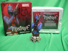 Marvel Universe Mystique Resin Bust Sculpted SOTA In Box 473 / 2500 w/ COA 6b1