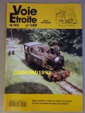 Voie étroite n°149 août 1995 Côtes du Nord : adieu au viaduc du Souzain