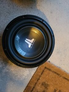 JL Audio 10w1v3-4 10 in Subwoofer 4 Ohm Impedance
