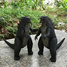 2pcs 17cm Godzilla Action Figure Kid Child Boy Display Figurines Play Set Toy