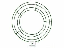 """Lot of 5 Panacea Green Box Wire Wreath Macrame Floral Craft Frame 10"""" inch"""