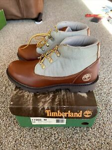 Boys Juniors Timberland Boots Size 5.5 Campsite Chukka Maple 11960 NEW