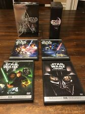 Star Wars Trilogy (DVD, 2004, 4-Disc Set, Widescreen)Mint Condition.!!!