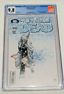 Walking Dead #7 Image Comics 4/04 CGC Graded 9.8 NM/MT White Pages