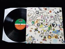 LED ZEPPELIN III LP UK GERMAN Orange/Green K 50002 Working Wheel EX+