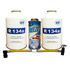 0*F R-134A Kit Refrigerant, Oil Charge & Can Tap
