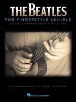The Beatles for Fingerstyle Ukulele Sheet Music Ukulele Book NEW 000124415