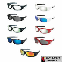 MCR CREWS SWAGGER SAFETY GLASSES SUNGLASSES WORK SPORT EYEWEAR ANSI Z87.1