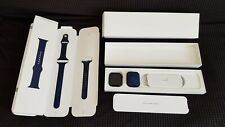 Apple Watch Series 6 GPS 44mm Case Aluminium Blue, Band Sport Deep Navy,...