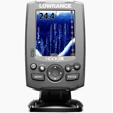 Lowrance Hook-3X DSI 455/800 with transom mount transducer