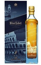 RARE SCOTCH WHISKY JOHNNIE WALKER BLUE LABEL ROMA  EDITION 70 CL 40%