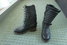 Ash Boots Zip Up Size:38 UR / 7.5 to 8 US