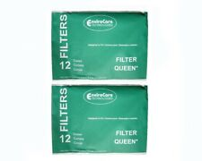 Filter Queen 200, FQR-1450 Vacuum Paper Cone 24 Pack W/ 4 Filters