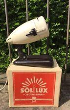 Original Hanau Solilux Designer Lampe Wärmelampe 1950er Jahre OVP