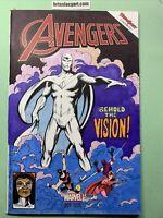 Avengers 1 Original Sketch Cover Homage West Coast Avengers 45 Wanda vision