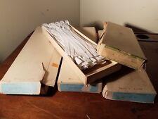"VTG TALON Zephyr Zippers (100) - 7"" White Nylon Coil #723-7-021 NOS Orig Box USA"