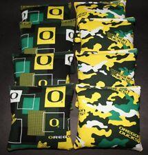University of OREGON DUCKS 8 ACA Regulation Top Quality Cornhole Bean Bags