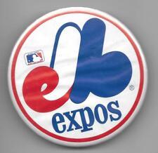 Montreal Expos Baseball Team Logo Metal Pin Back Button