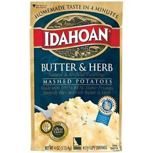 Idahoan Butter & Herb Mashed Potatoes