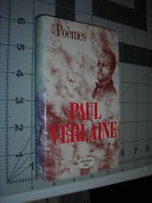 POEMES Oeuvres Paul Verlaine works FRENCH Editions Lattes, Paris 1987 Rare HC/DJ