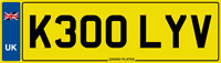 KELLY V NUMBER PLATE KEL KELS CAR REGISTRATION - K300 LYV - KELI KELLIE KELLI