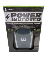 Cobra Electronics CPI890 DC 12V to 120V AC Power Inverter, 800W