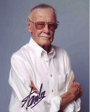 STAN LEE Hand signed COPY! RP MARVEL COMICS! STAN THE MAN VERY NICE PHOTO! F2