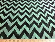 Africana con estampado en zigzag Chevron tela impresión De 1//2 yarda Fancy Wax Paño p608