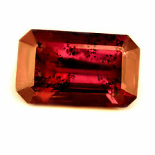 Certified Natural Untreated Ruby 1.56ct SI Unheated Emerald Cut Madagascar Gem