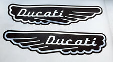 Ducati Monster vecchio logo ala scrambler set adesivi serbatoio Free shipping