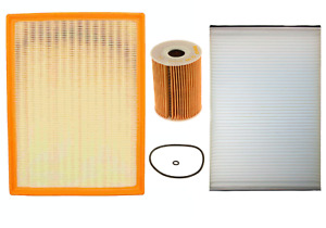 Tune Up Filter Kit: Air + Oil + Cabin Filters for 10-18 SPRINTER 2500 3500 V6