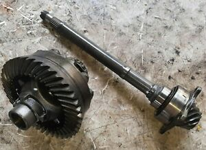 01-02 Subaru Forester 4EAT Front Differential Carrier Ring & Pinion 4.44 Open