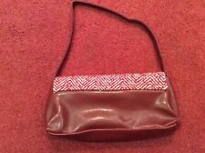 Red women's small handbag from George