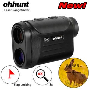 ohhunt New Hunting Optical Multifunction Laser Rangefinder 8X 600 800 1500M Golf