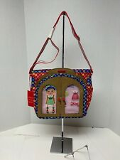 Oilily girls shoulder bag with play wardrobe attach on side