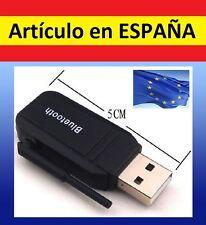 ANTENA Adaptador BLUETOOTH PC IPHONE USB audio movil smartphone receptor musica