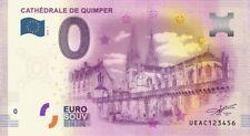 Billet Touristique 0 Euro - Cathédrale de Quimper - 2016-1